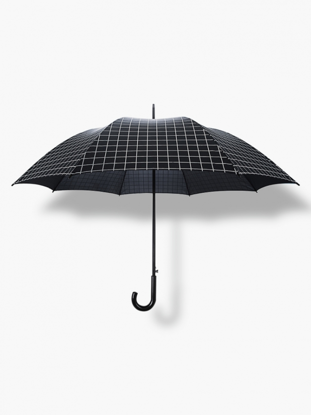 一些事一些情 格子长柄雨伞(27寸)