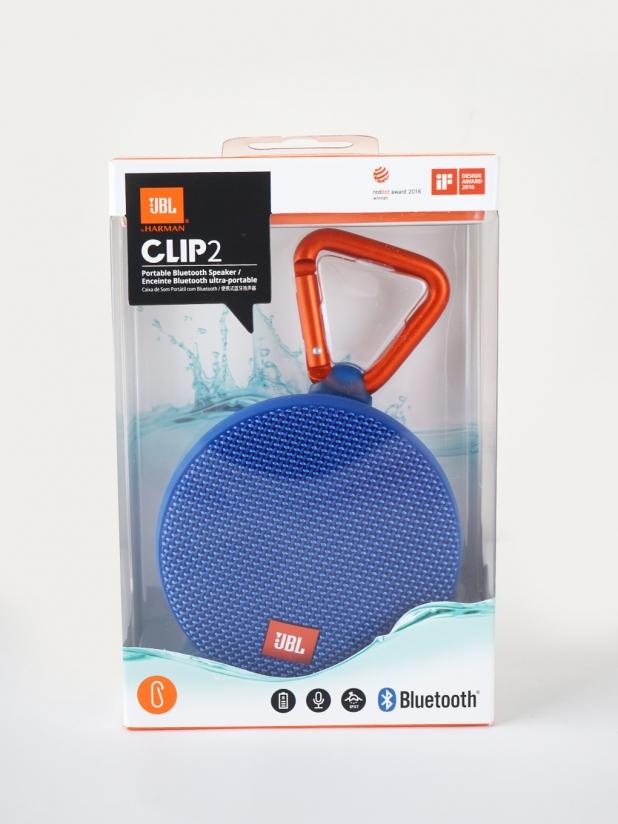 JBL CLIP2蓝牙防水音响(蓝色)