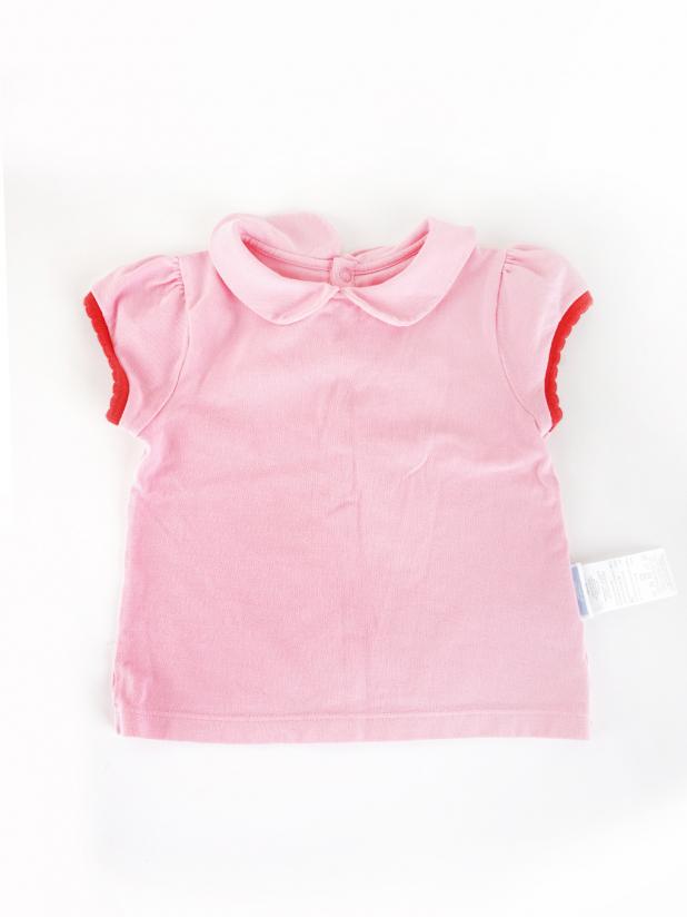 jacadi粉红上衣