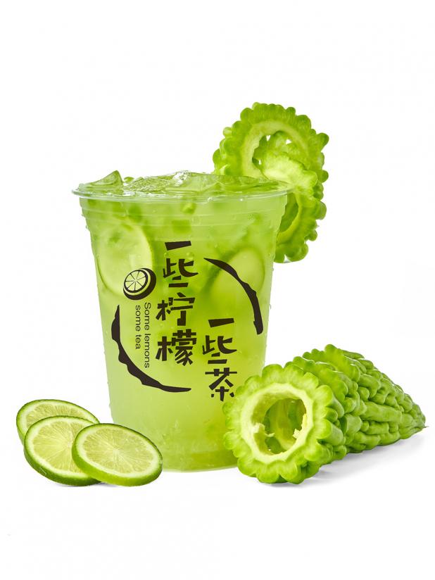 网红苦瓜柠檬茶(中杯)