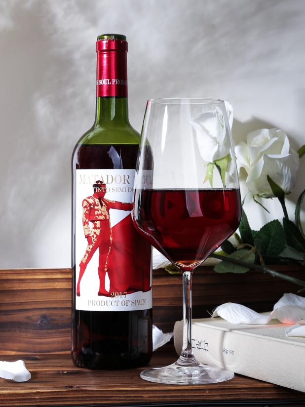 西班牙斗牛魂半干红葡萄酒