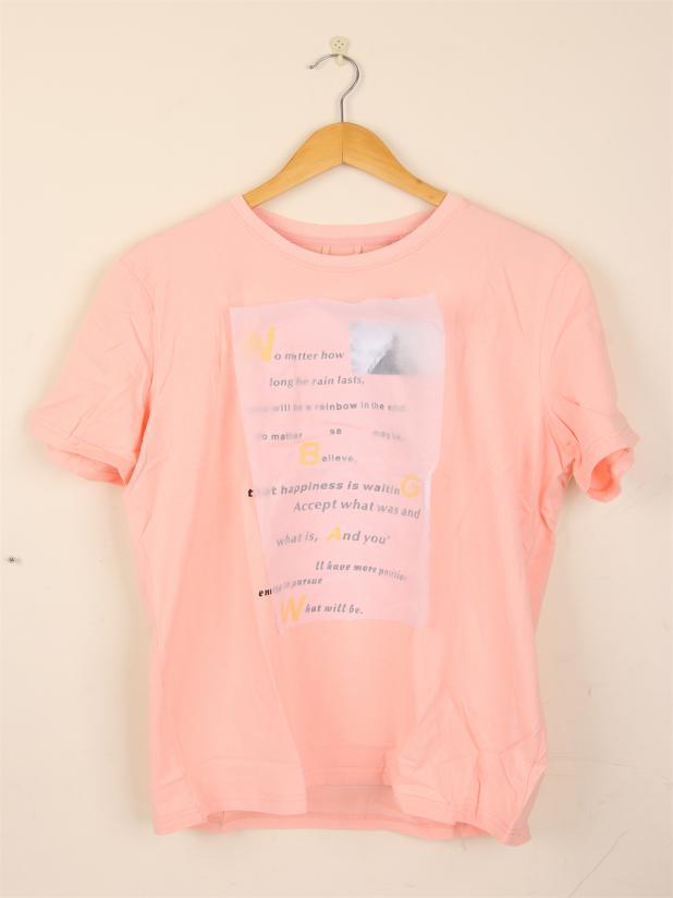 【模特试穿】NBGAW 粉色 XL